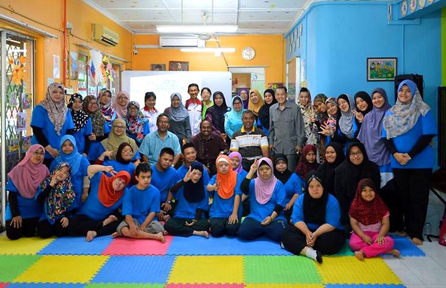 Kem Kendiri Bersama Remaja Sindrom Down - Disember 2016