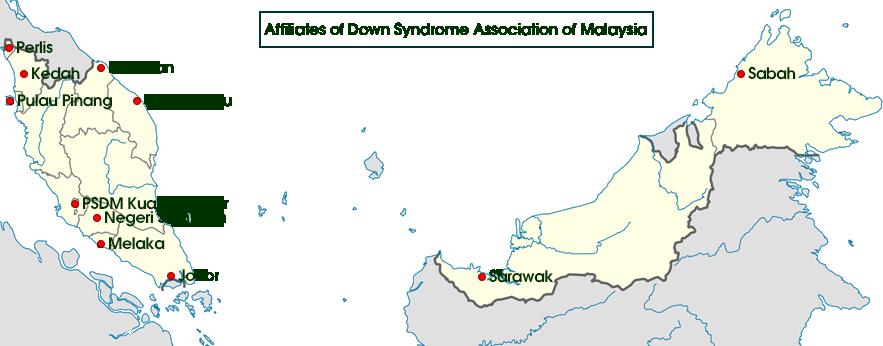 Map of PSDM Affiliates
