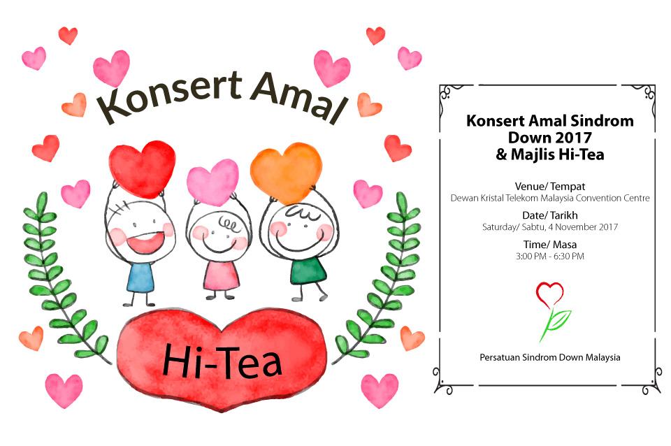 Konsert Amal PSDM 2017 & Majlis Hi-Tea 4 November 2017